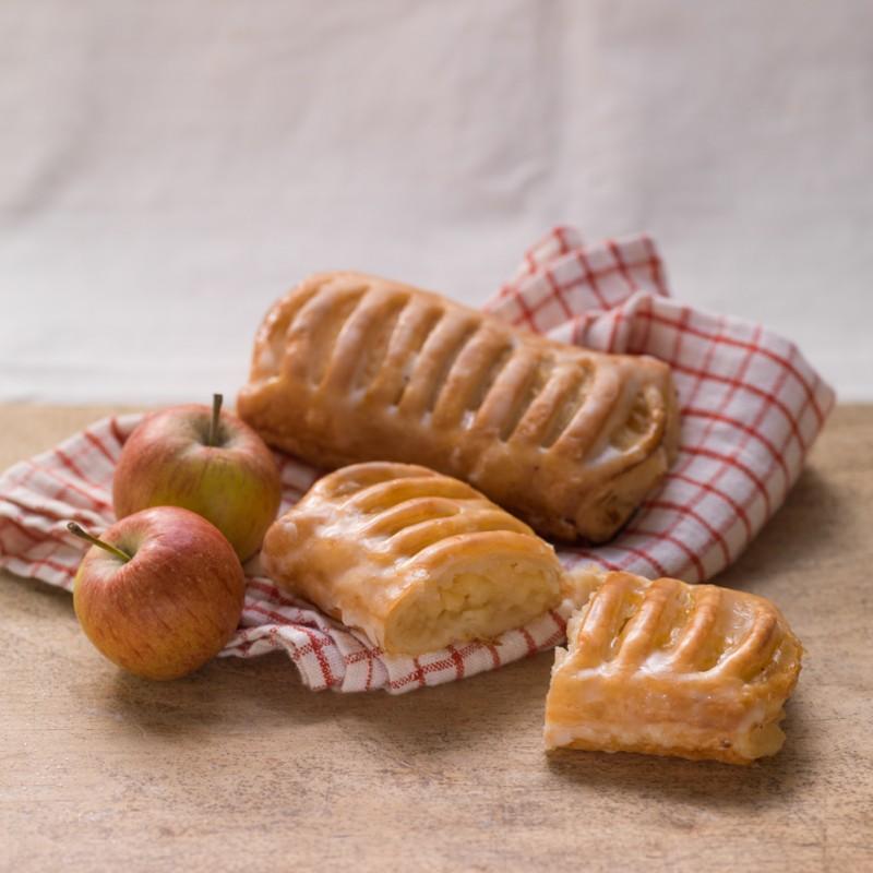 Apfelblaetterteig